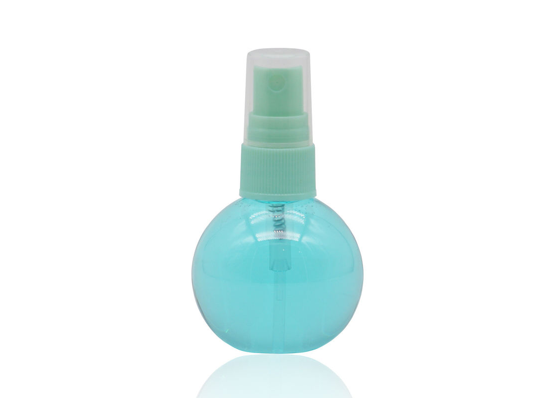 20mm Neck Size Small Plastic Spray Pump Bottle Transparent PET Ball Shape